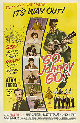 Go, Johnny, Go, Top-bottom Jimmy Poster by Everett