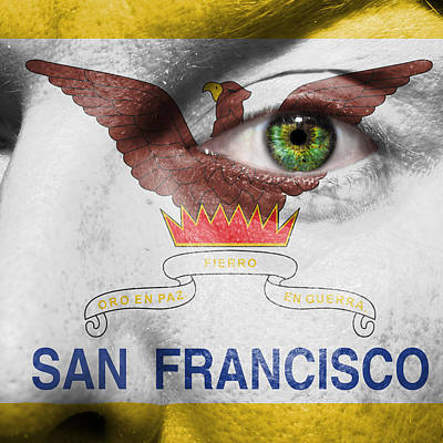 Go San Francisco Poster by Semmick Photo
