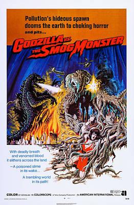 Godzilla Vs. The Smog Monster, Aka Poster by Everett