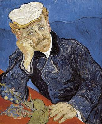 Gogh, Vincent Van 1853-1890. Dr. 1890 Poster by Everett