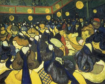Gogh, Vincent Van 1853-1890. The Dance Poster by Everett