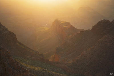 Gold Canyon Poster by Peter Coskun