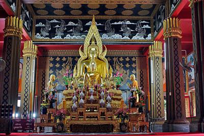 Golden Buddha Poster by Adam Romanowicz