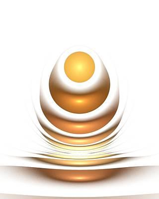 Golden Egg Poster by Anastasiya Malakhova