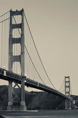 Golden Gate Bridge From Fort Point Poster by Panoramic Images