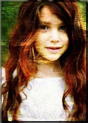 Golden Girl Poster by Gun Legler
