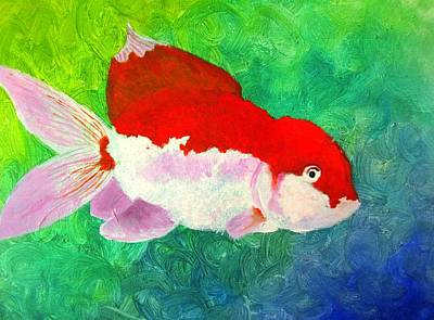 Goldfish Poster by MaryEllen Frazee
