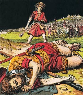 Goliath Poster by English School