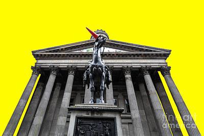 Goma Pop Art Yellow Poster by John Farnan