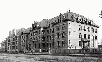 Gonzaga College Spokane 1900 Poster by Daniel Hagerman