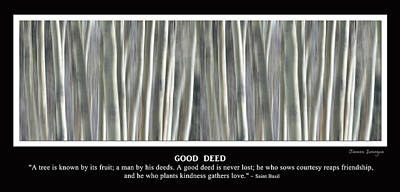 Good Deed Poster by James BO  Insogna