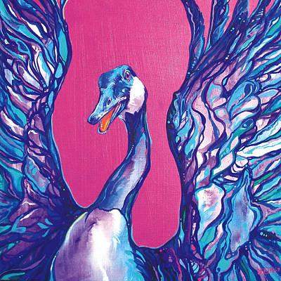 Goose Poster by Derrick Higgins