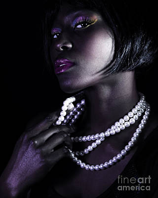 Gorgeous African Woman Poster by Anna Omelchenko