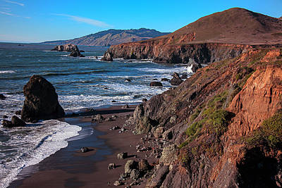 Gorgeous Sonoma Coast Poster by Garry Gay