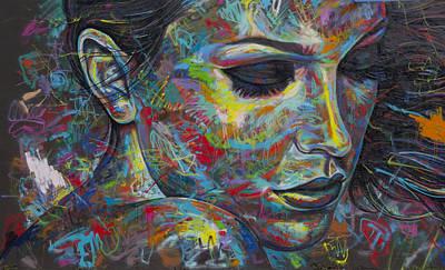 Grafitti Portrait Poster by Austin Whisnant