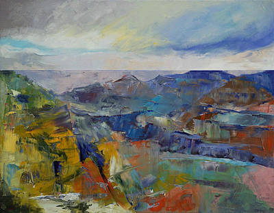 Grand Canyon Poster by Michael Creese