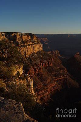 Grand Canyon South Rim Sunrise 3 Poster by Trish Hebendahl