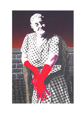 Grandmother Poster by Kenneth Stockton