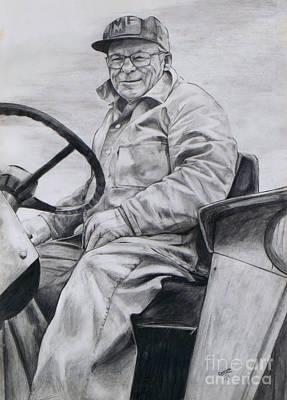 Grandpa Poster by Joy Nichols
