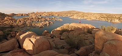 Granite Dells Panoramic 2 Poster by Tam Ryan