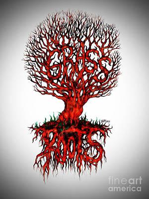 Grass Roots Poster by Baruska A Michalcikova