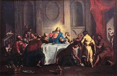 Grassi Nicola, Last Supper, 18th Poster by Everett