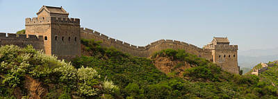 Great Wall Of China, Jinshangling Poster by Panoramic Images