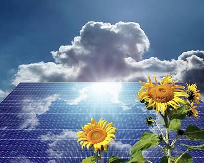 Green Energy Poster by Detlev Van Ravenswaay