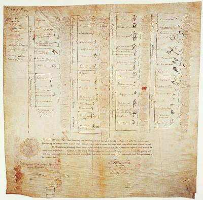 Greenville Treaty, 1795 Poster by Granger
