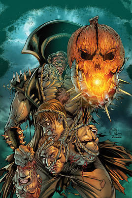 Grimm Fairy Tales Presents Sleepy Hollow 02a Poster by Zenescope Entertainment