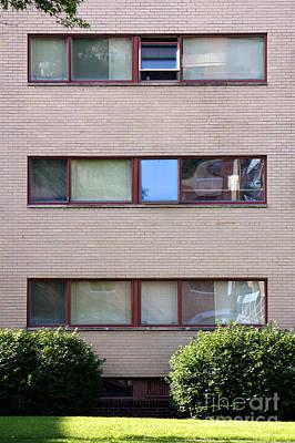Gropius Bauhaus Dorm Buildings At Harvard Law School Poster by Jannis Werner