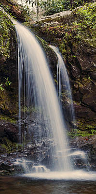 Grotto Falls Tennessee Poster by Heather Applegate