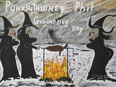 Groundhog Day Poster by Jeffrey Koss