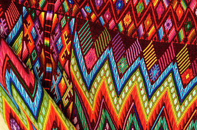 Guatemala, Chichicastenango, Colorful Poster by Jaynes Gallery