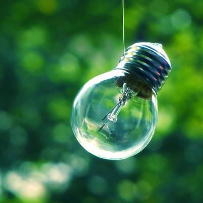 Guiding Light Poster by Vesna Viden