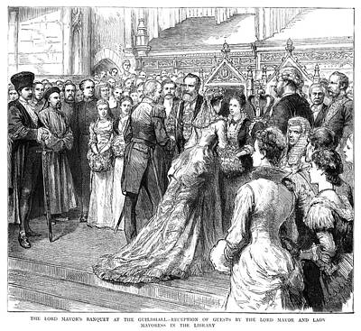 Guildhall Reception, 1883 Poster by Granger