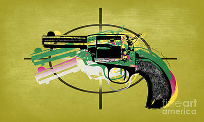 Gun 5 Poster by Mark Ashkenazi