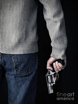 Gun Poster by Edward Fielding