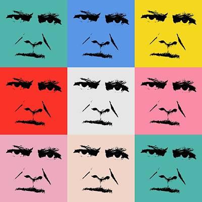 Gunnar Hansenpopart Poster by Toppart Sweden