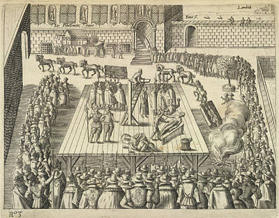 Gunpowder Plotters Executed Poster by British Library