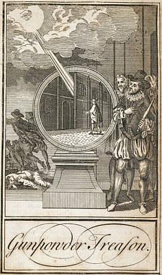 Gunpowder Treason Poster by British Library