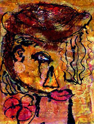 Gypsy Woman Poster by Alexandra Jordankova