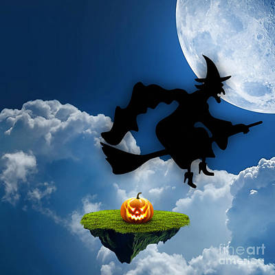 Halloween Night Is Approaching Poster by Marvin Blaine