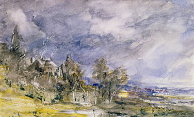 Hampstead Heath From Near Well Walk Poster by John Constable