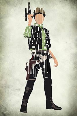 Han Solo Vol 2 - Star Wars Poster by Ayse Deniz