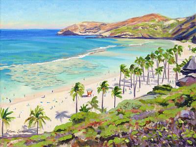 Hanauma Bay - Oahu Poster by Steve Simon