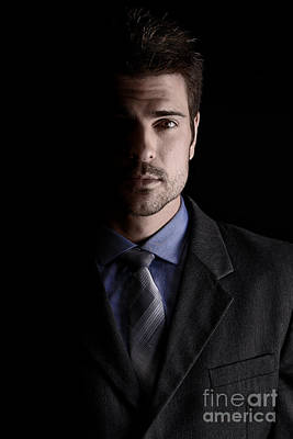 Handsome Business Man Poster by Jt PhotoDesign