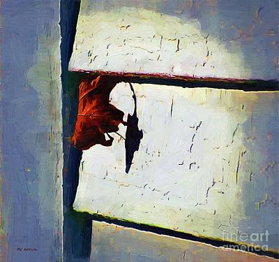 Hanging On Poster by RC DeWinter