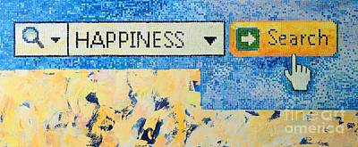 Happiness Poster by Ana Maria Edulescu