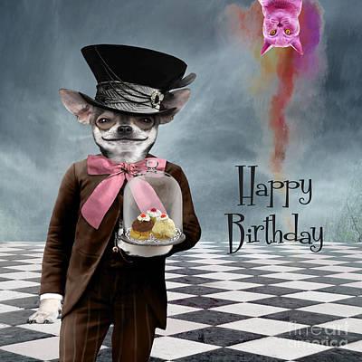 Happy Birthday Poster by Juli Scalzi